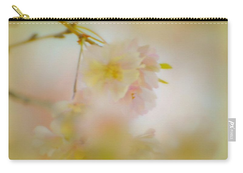 Flowers Carry-all Pouch featuring the photograph Softly Dancing by Diana Angstadt