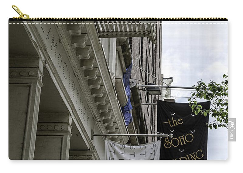 Soho Carry-all Pouch featuring the photograph Soho 2 - Nyc by Madeline Ellis