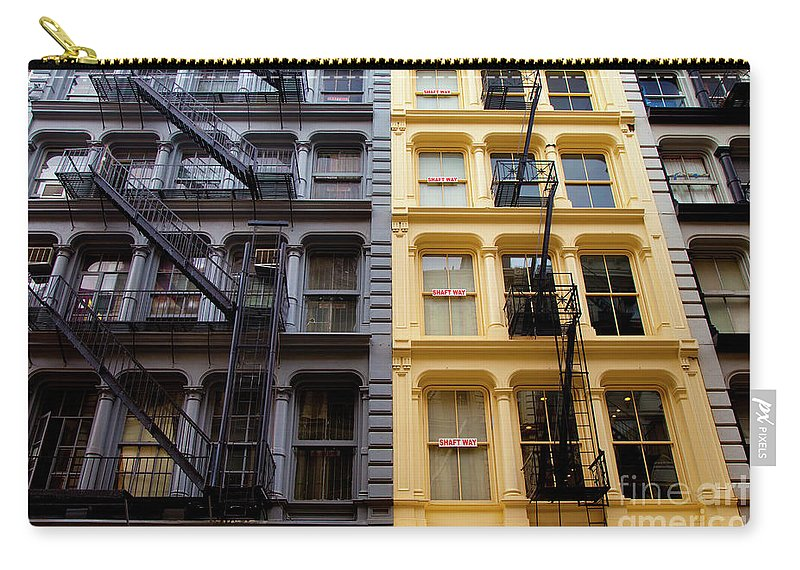Soho Carry-all Pouch featuring the photograph Soho New York by Brian Jannsen