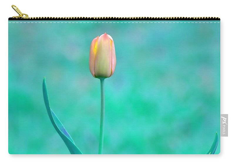 Tulip Carry-all Pouch featuring the photograph Solitude by Deena Stoddard