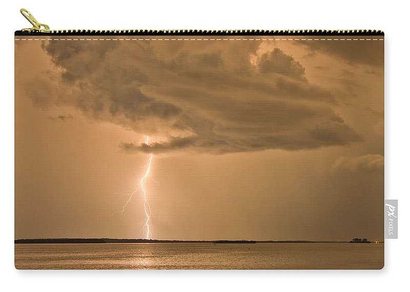 Florida Carry-all Pouch featuring the photograph Solitude by Stephen Whalen