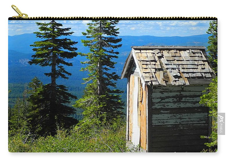 Mountains Carry-all Pouch featuring the photograph Solitude by Sue McElligott