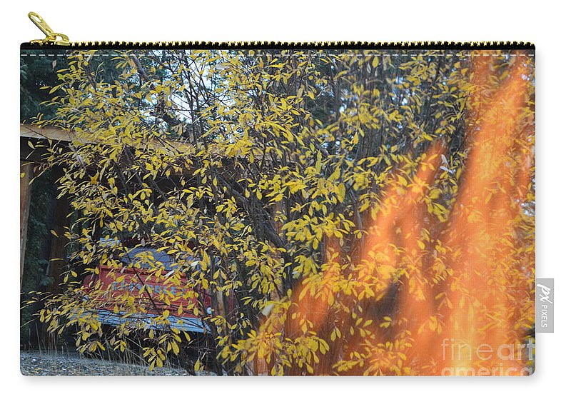 Flames Carry-all Pouch featuring the photograph Some But Not All by Brian Boyle