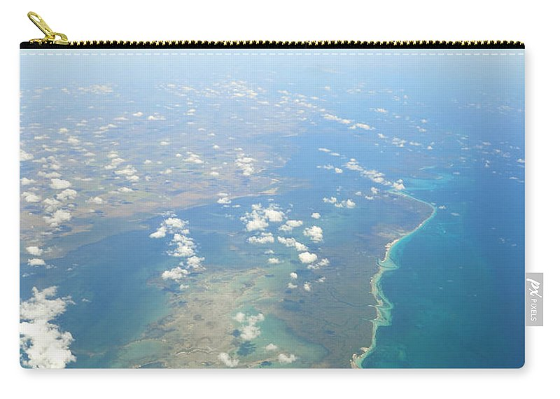 Cuba Carry-all Pouch featuring the photograph Somewhere Over Cuba by David Hart