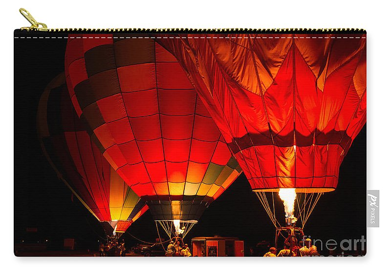 California Carry-all Pouch featuring the photograph Sonoma County Hot Air Balloon Classic by Paul Fearn
