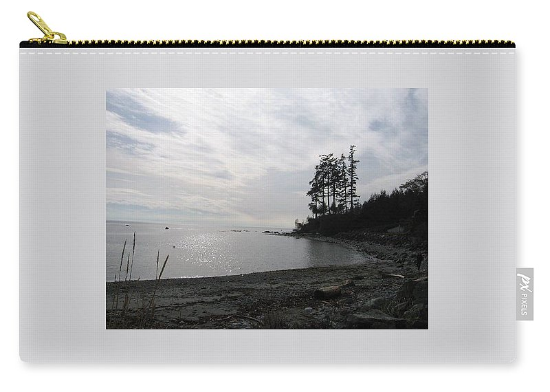 Ocean Carry-all Pouch featuring the photograph Sooke by Stephanie Bland