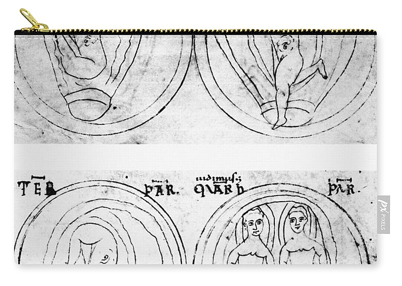 2nd Century Carry-all Pouch featuring the photograph Soranus (fl. 2nd Century) by Granger