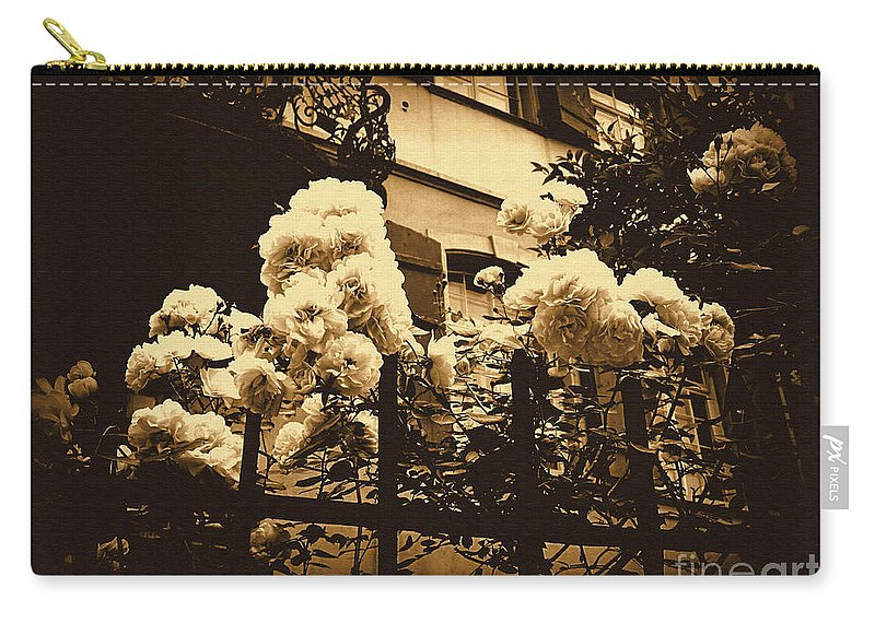 Rose Carry-all Pouch featuring the photograph Sorry To Hear That by Susanne Van Hulst