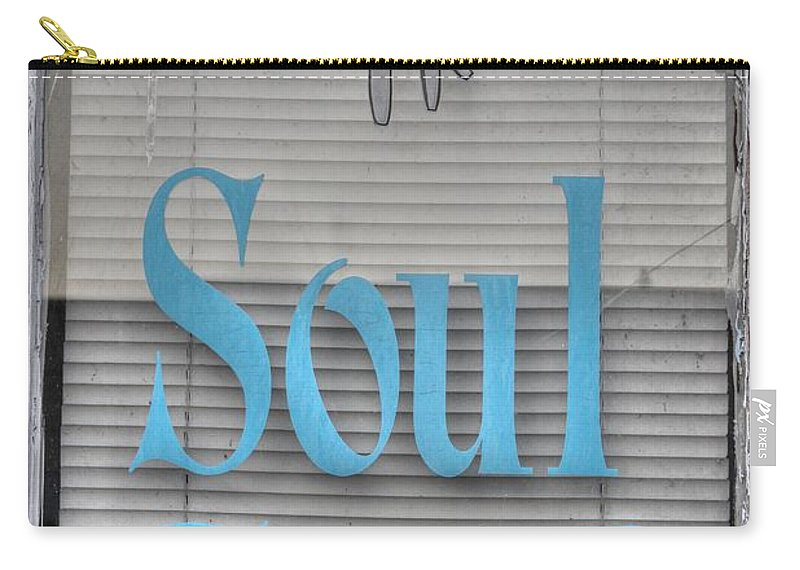 Soul Food Carry-all Pouch featuring the photograph Soul Food by Jane Linders
