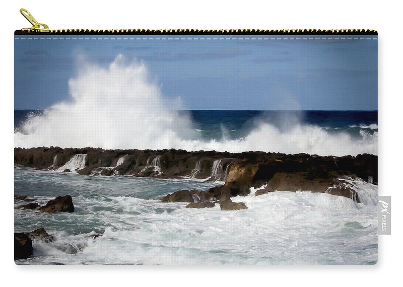 Hawaii Carry-all Pouch featuring the photograph Sounds Of Hawaii by Karen Wiles