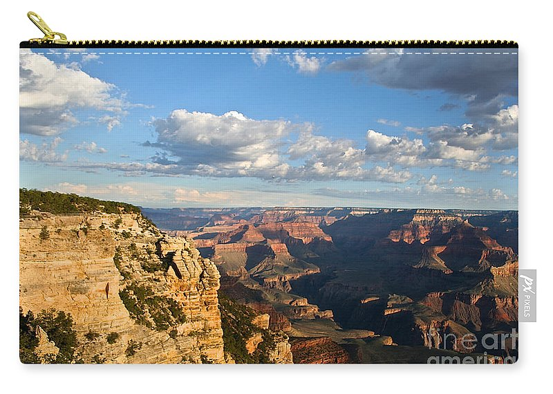 Grand Canyon Carry-all Pouch featuring the photograph South Rim Sunrise by Susan Herber