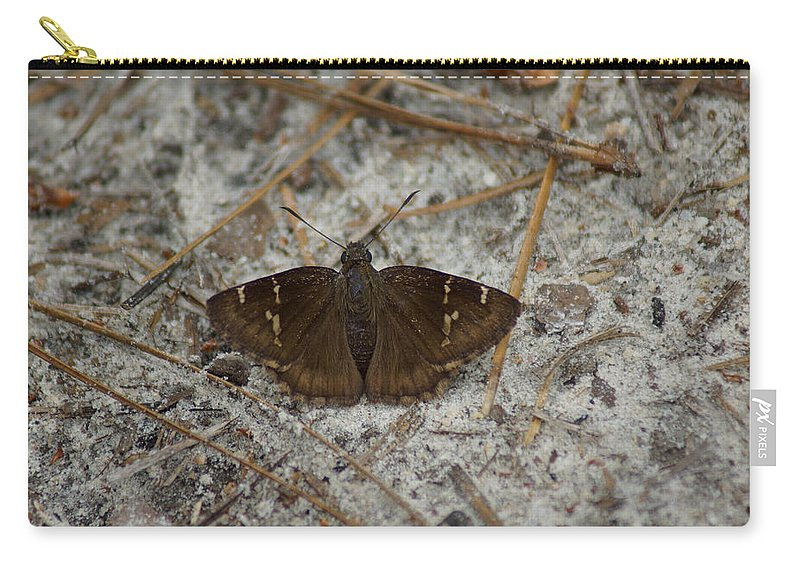 Thorybes Bathyllus Carry-all Pouch featuring the photograph Southern Cloudywing by Kim Pate