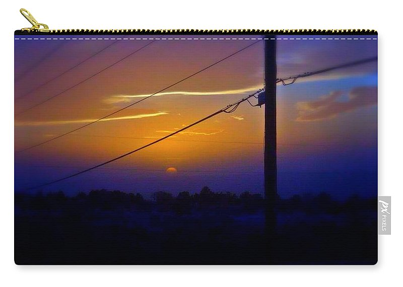 Sky Carry-all Pouch featuring the photograph Southern Sky by Sarah Jane Thompson