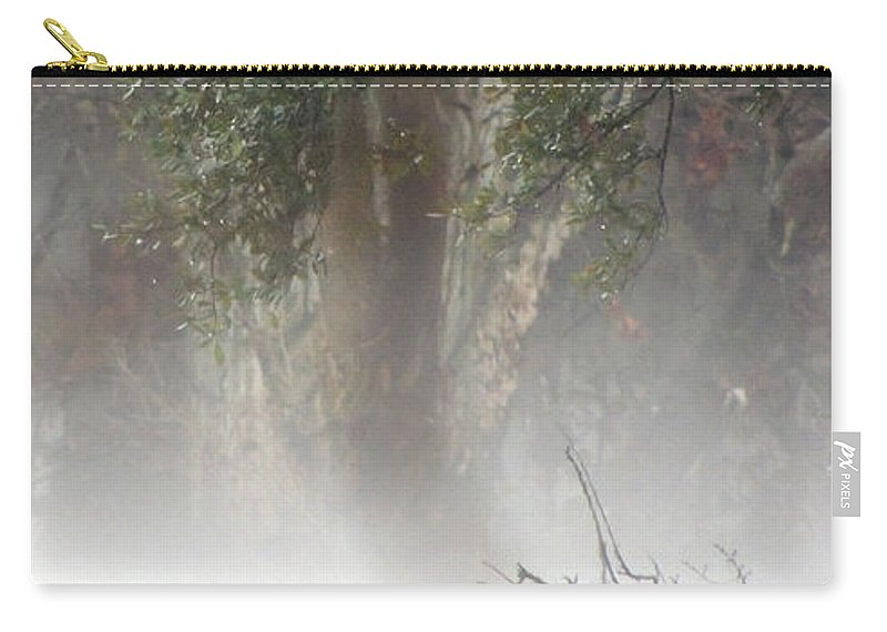 Southern Carry-all Pouch featuring the photograph Southern Trees Have Curves by Kim Pate