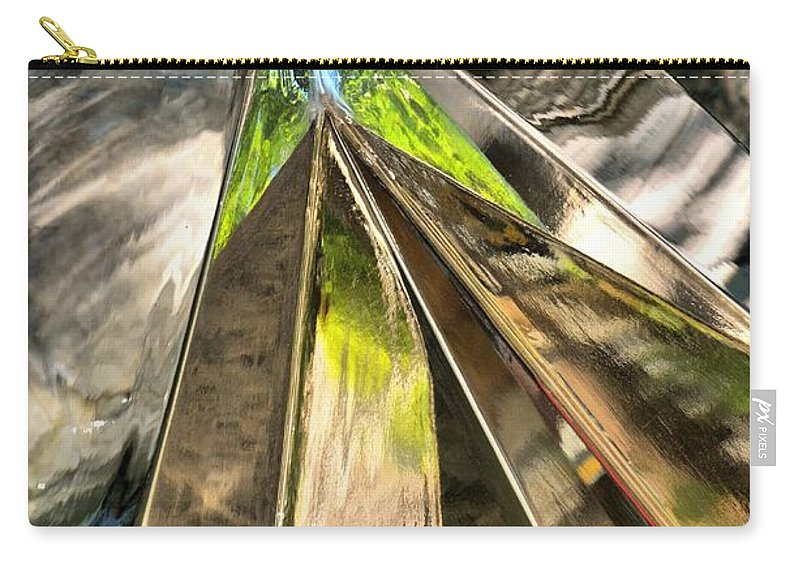 Abstract Carry-all Pouch featuring the photograph Space And Time by Lauren Leigh Hunter Fine Art Photography