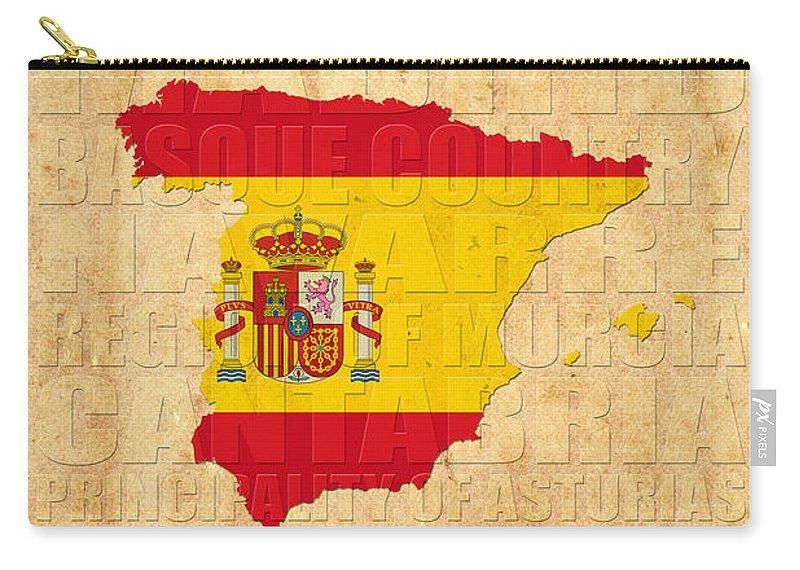 Spain Carry-all Pouch featuring the photograph Spain by Andrew Fare