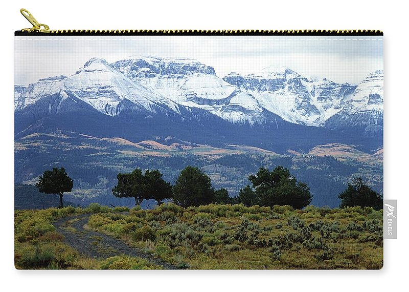 Colorado Carry-all Pouch featuring the photograph Speaking In Silence by Eric Glaser