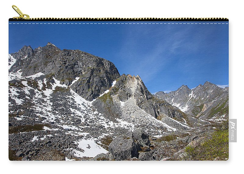 Doug Lloyd Carry-all Pouch featuring the photograph Spilling Away by Doug Lloyd
