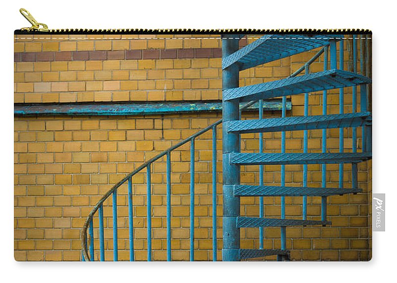 Europe Carry-all Pouch featuring the photograph Spiral Staircase by Inge Johnsson