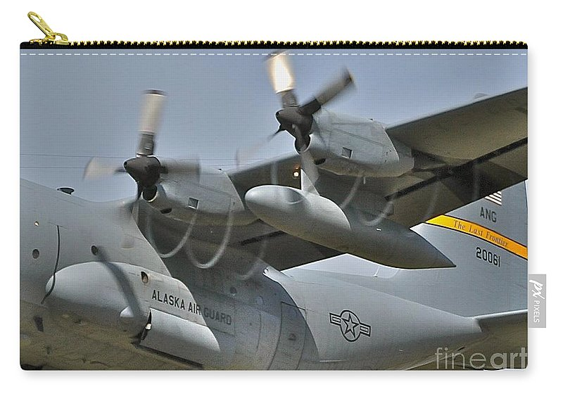 C-130 Carry-all Pouch featuring the photograph Spirals by Rick Monyahan