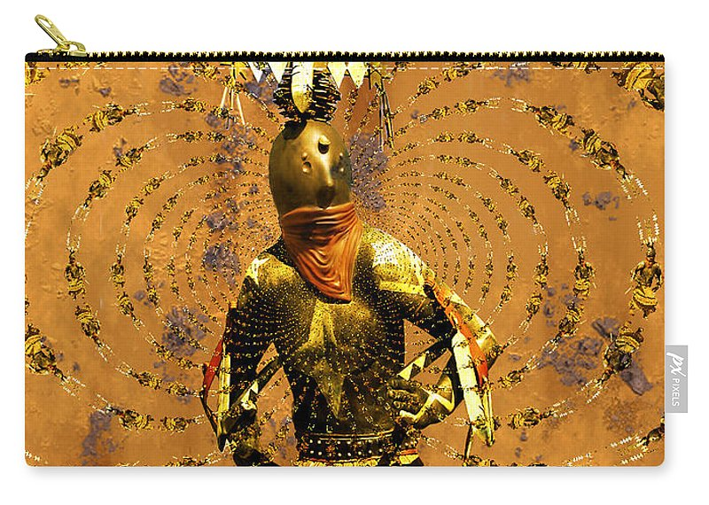 Kachina Carry-all Pouch featuring the photograph Spirit Dance by Kurt Van Wagner