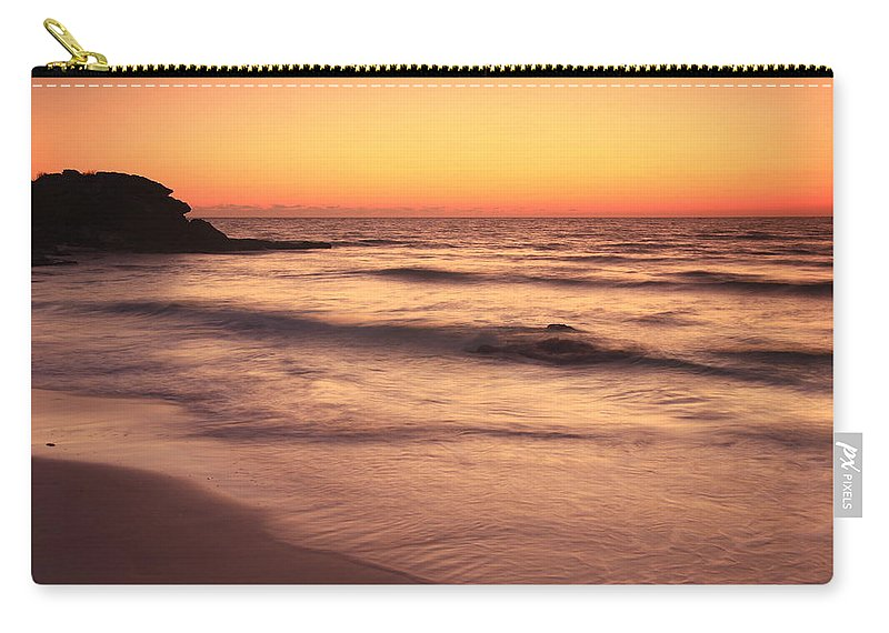 Face Carry-all Pouch featuring the photograph Spirit Of The Maya Seascape by Roupen Baker