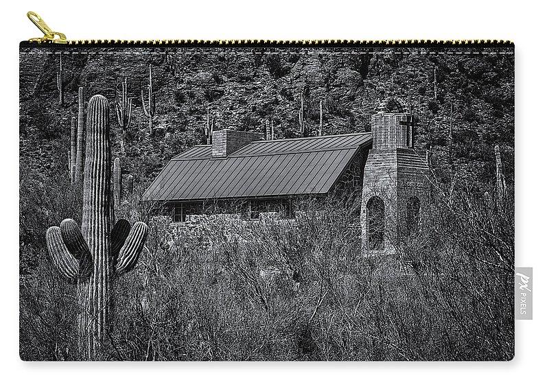 Arizona Carry-all Pouch featuring the photograph Spiritual Oasis 28 by Mark Myhaver