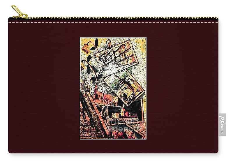 Hollilandimage Carry-all Pouch featuring the digital art Spirtuality II by Yael VanGruber