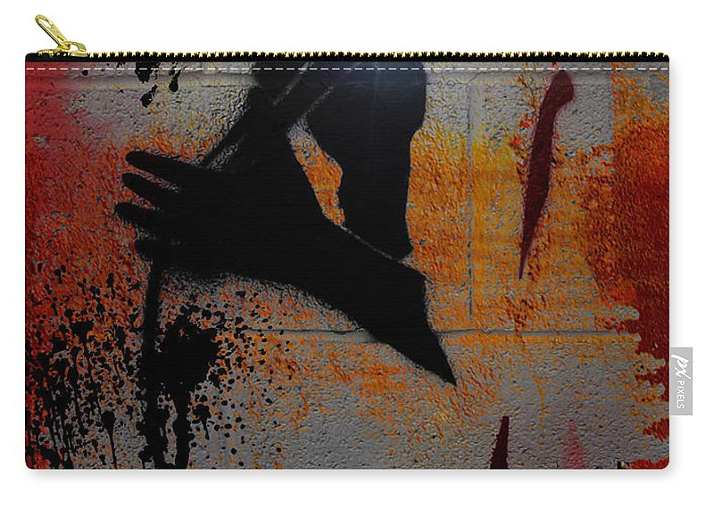 Abstract Carry-all Pouch featuring the photograph Spitz by The Artist Project