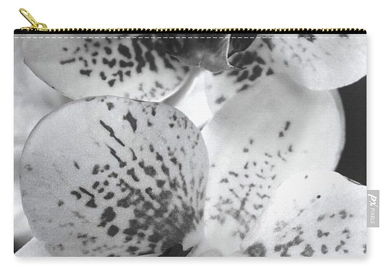 White Orchid Carry-all Pouch featuring the photograph Splash by Marianne Jimenez