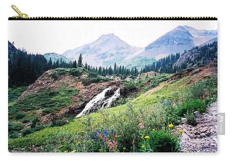 Splendid Wonder Carry-all Pouch featuring the photograph Splendid Wonder by Jennifer Lavigne