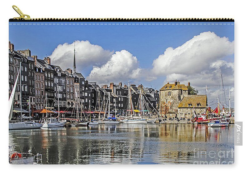 Travel Carry-all Pouch featuring the photograph Splendor Of Honfleur by Elvis Vaughn