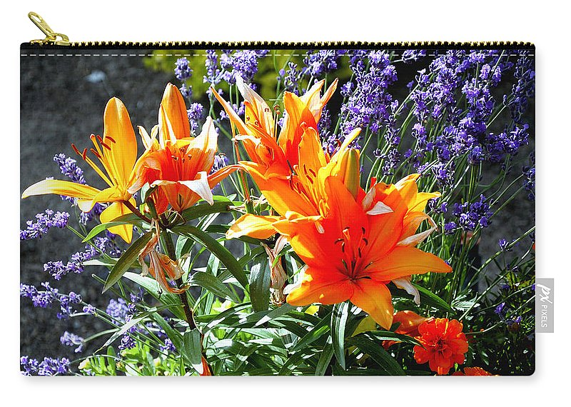 Spring Carry-all Pouch featuring the photograph Spring 921 by Jerry Sodorff