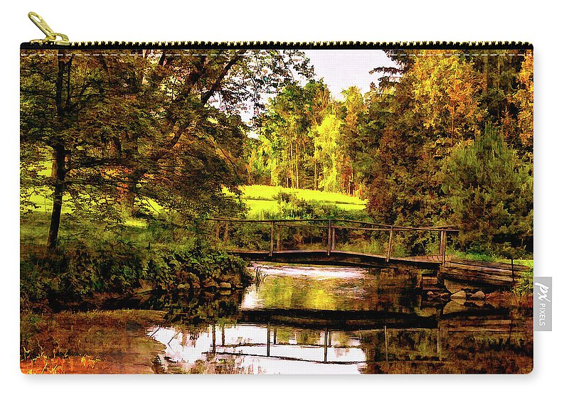 Landscape Carry-all Pouch featuring the photograph Spring Becomes The Summer II by Steve Harrington