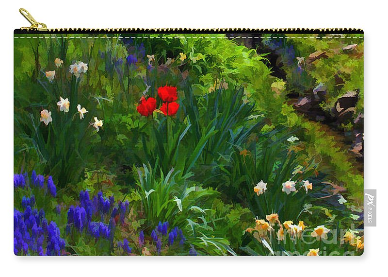 Spring Carry-all Pouch featuring the photograph Spring Blossoms by Geoff Crego