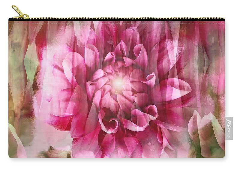 Spring Carry-all Pouch featuring the photograph Spring Dreaming by Linda Sannuti