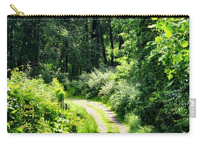 Nature Carry-all Pouch featuring the photograph Spring Hikes by Art Dingo