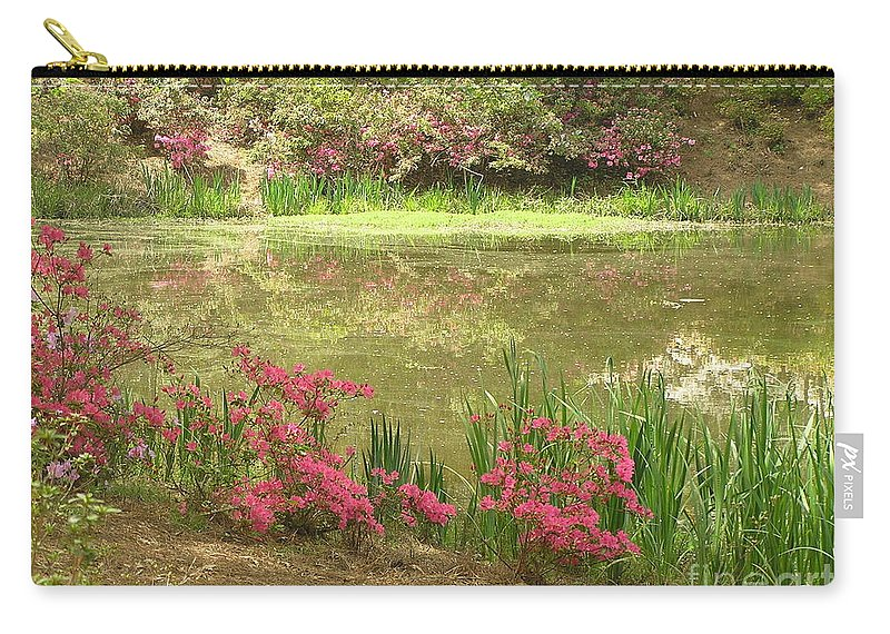 April Carry-all Pouch featuring the photograph Spring Impression by Irina Davis