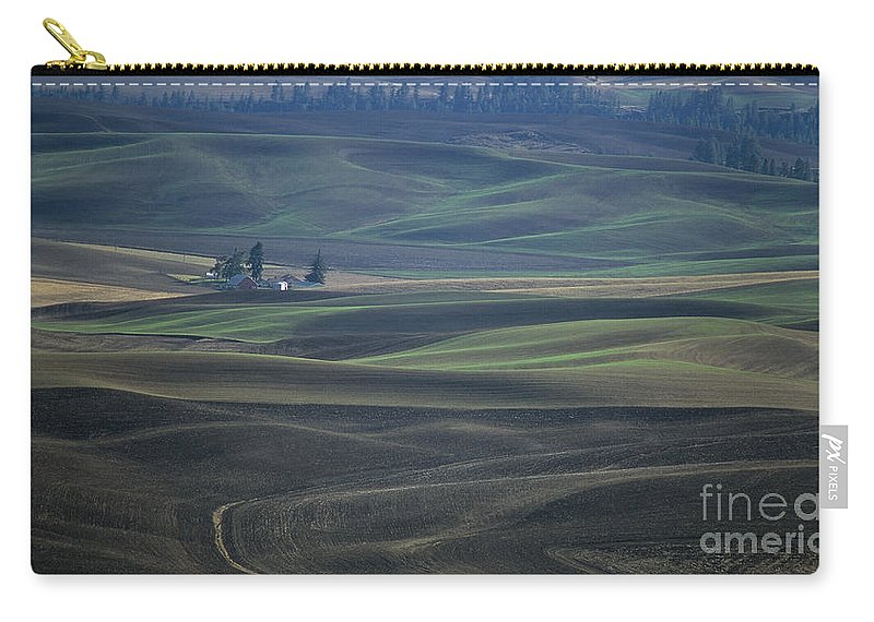 Palouse Carry-all Pouch featuring the photograph Spring In The Palouse by Sharon Elliott