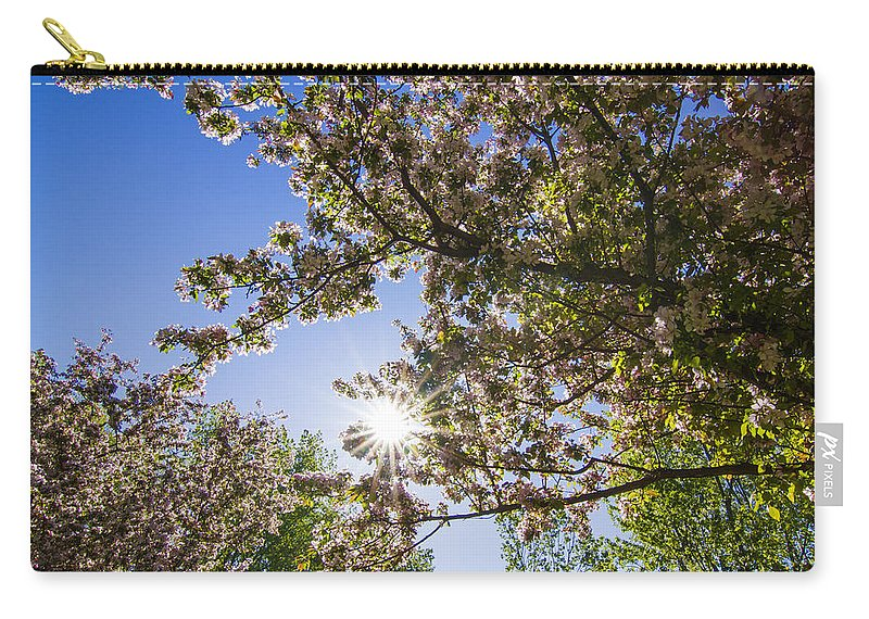 Spring Carry-all Pouch featuring the photograph Spring by Mircea Costina Photography