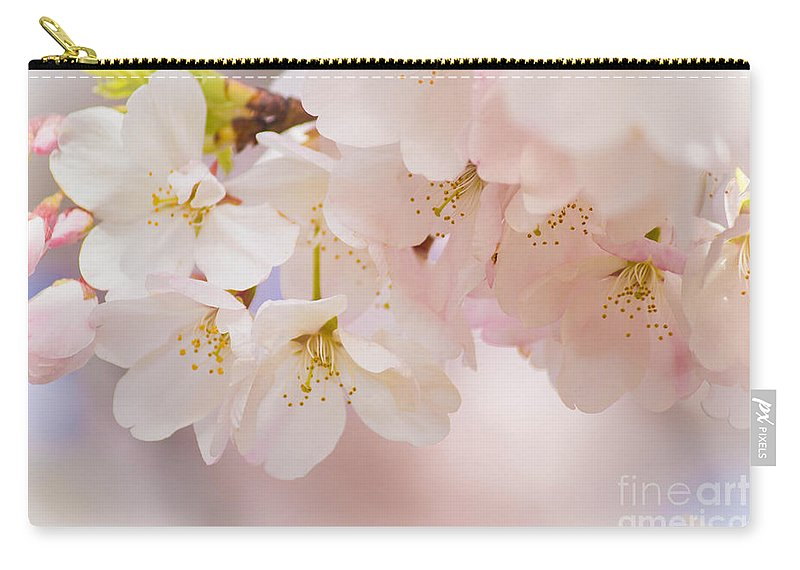 Cherry Carry-all Pouch featuring the photograph Spring Song by Patricia Babbitt
