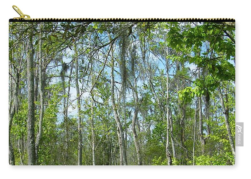 Sawmp Carry-all Pouch featuring the photograph Spring Swamp by Lizi Beard-Ward