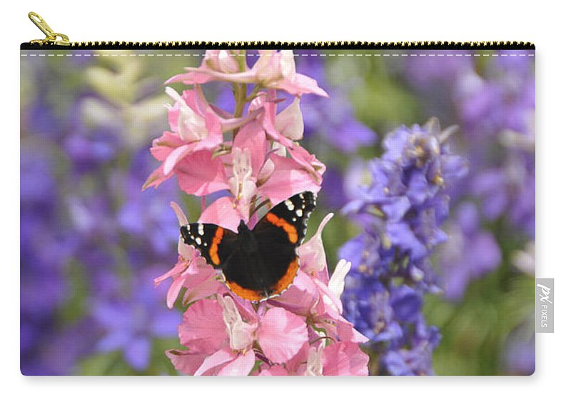 Flower Carry-all Pouch featuring the photograph Springtime Feast by Lynn Bauer