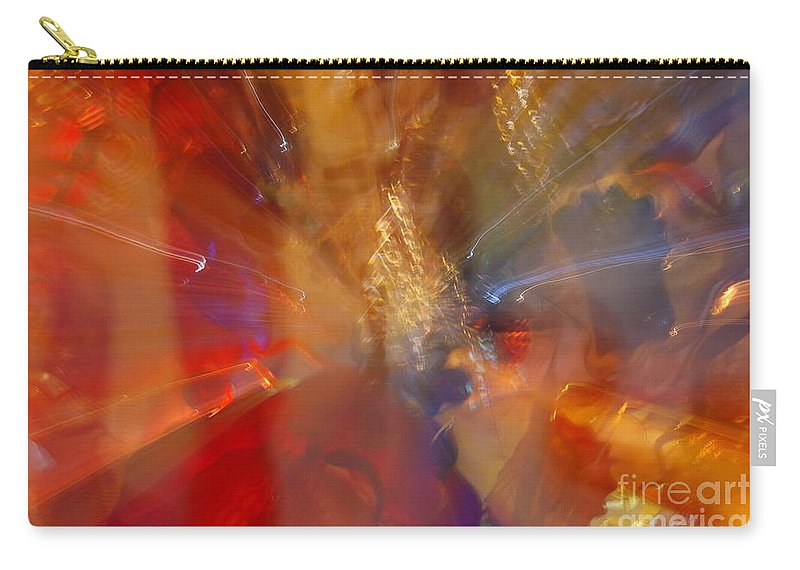 Katis Carry-all Pouch featuring the photograph Spun Crystal by Randy J Heath