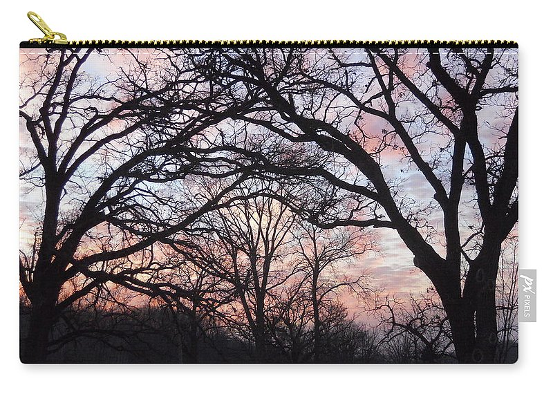 Trees Carry-all Pouch featuring the photograph Square Dancing by Coleen Harty