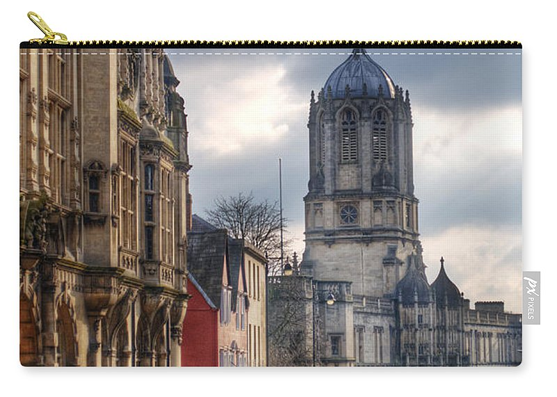 Oxford Carry-all Pouch featuring the photograph St Aldates Street Road by Chris Day