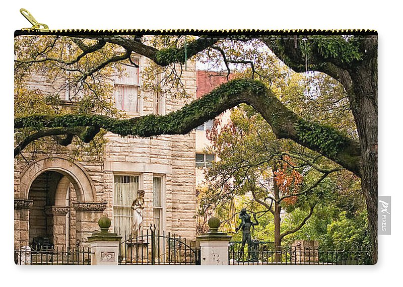 Home Carry-all Pouch featuring the photograph St. Charles Ave. by Steve Harrington