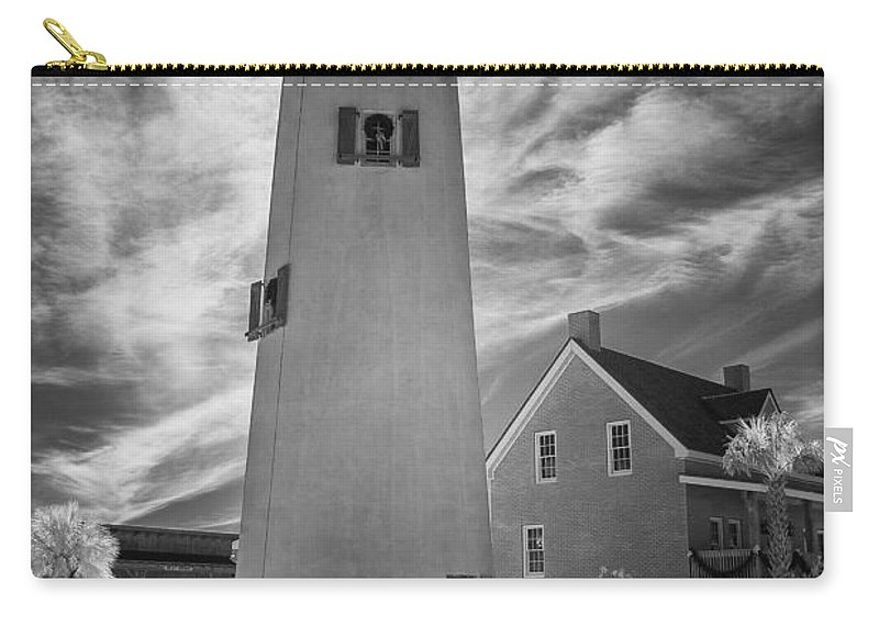 Florida Carry-all Pouch featuring the photograph St. George Island Lighthouse by Jurgen Lorenzen