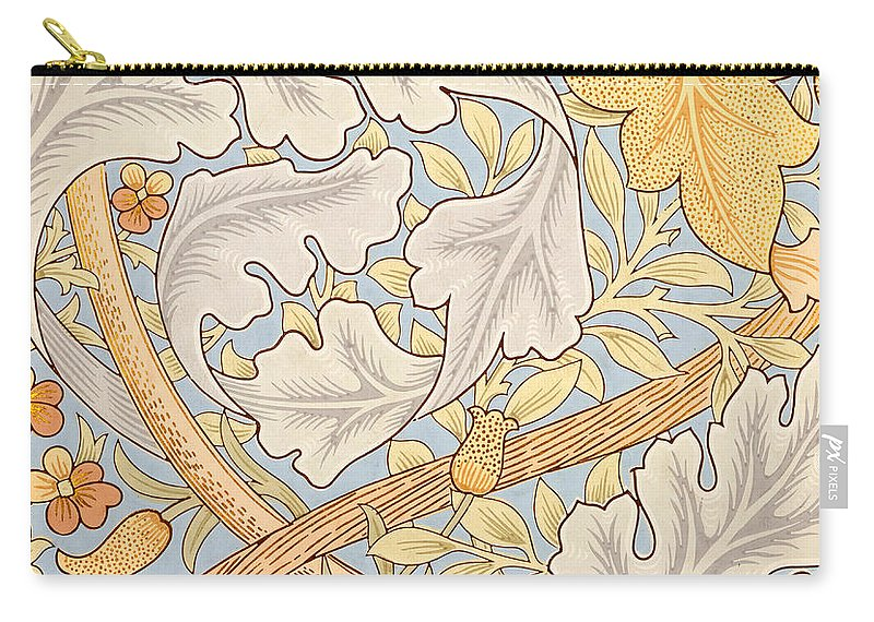 St James Carry-all Pouch featuring the painting St James Wallpaper Design by William Morris