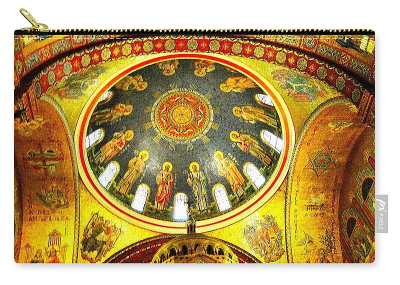 St. Louis Carry-all Pouch featuring the photograph St. Louis Cathedral Dome 2 by Cynthia Croal